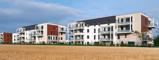 Construction - 52 logements collectifs - Wolfisheim - BIK ARCHITECTURE GRAND EST - BET structure CALLISTO INGÉNIERIE
